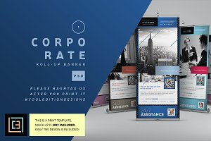 Corporate Roll-Up Banner 1
