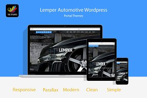 Lemper Multipurpose Wordpress Theme