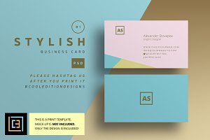 Stylish - Business Card 81