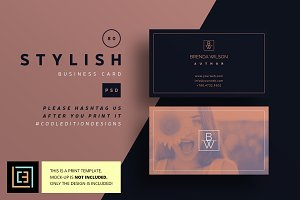 Stylish - Business Card 80