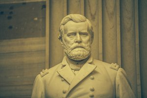 Sculpture of Ulysses Grant