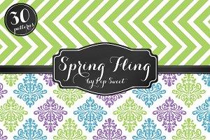 Spring Fling 30 Pattern Set