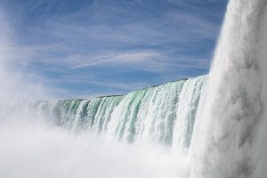 Horseshoe waterfall at Niagara Falls