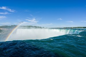 Niagara Falls on Canadian side