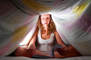 reading under cover