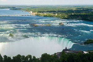 Powerful water over Niagara Falls