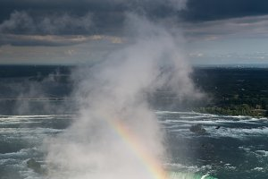 Powerful Waterfalls at Niagara Falls