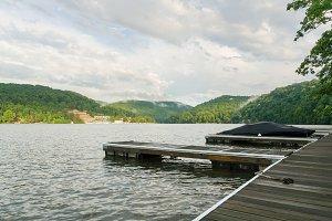 Cheat lake near Morgantown WV