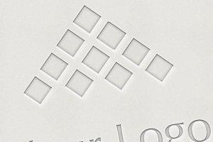 Logo Mock-ups - LetterPress Style