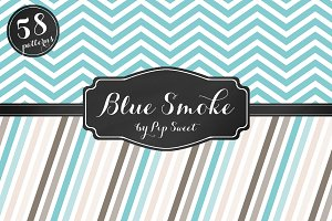 Blue Smoke 58 Pattern Set