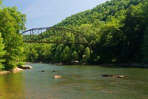 Cheat River at Jenkinsburg Bridge
