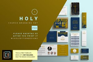 Holy - Church Branding Set