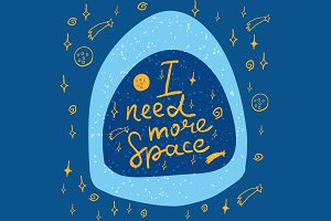 №161 I need more space