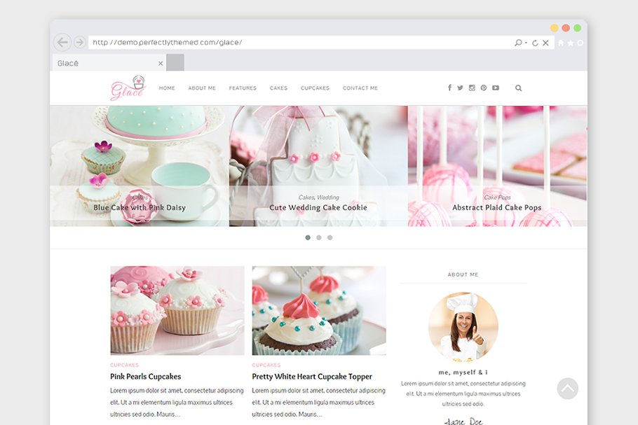 10 Cake Website Themes & Templates