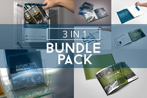 Bundle 3x Brochure Multiformat