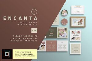 Encanta - Photography Marketing Set
