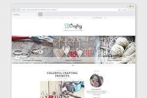 "Crafting WordPress Theme ""Craftsy"""