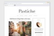 Minimalist WordPress Theme Pastiche