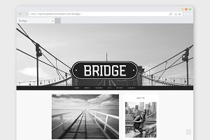 Photographer WordPress Theme Bridge