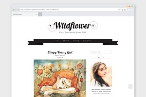 Creative WordPress Theme Wildflower