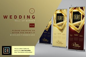 Wedding - Roll-Up Banner 1