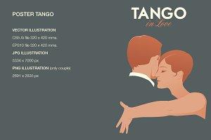 Tango dancers: Tango in Love