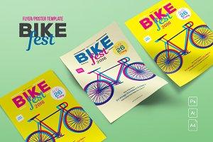 Bike Fest Flyer/Poster