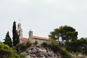 Church on the island, Montenegro