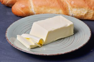 Baguette   with butter