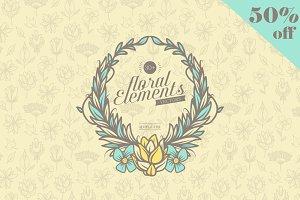 30+ Floral Elements
