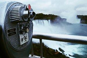 Telescope at Niagara Falls