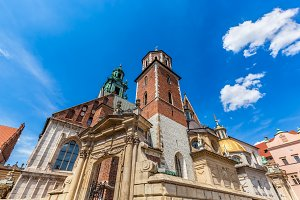 Wawel Cathedral, Cracow, Poland.