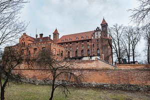 Castle in Gniew, Poland.