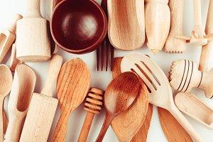 The Wooden utensils