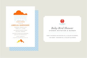 Baby Bird Shower