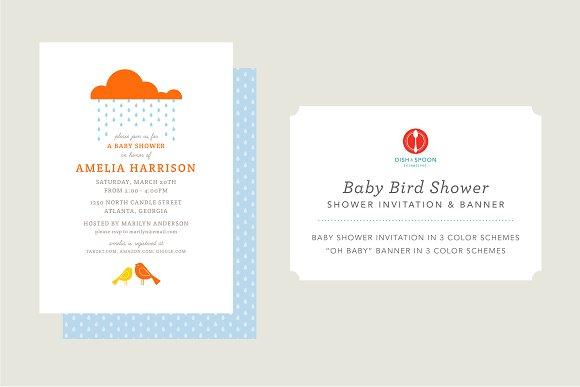 Baby Bird Shower