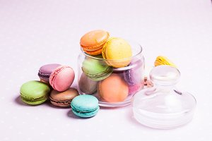 The Colorful macaroons