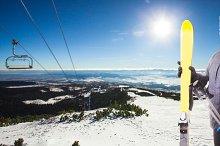 The Ski track