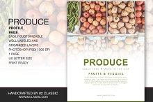 Produce Profile Page