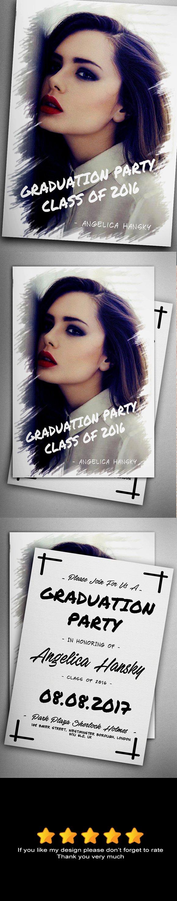 Graduation Invitation V