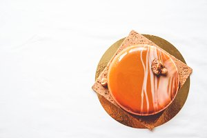 Caramel White Chocolate Entremet