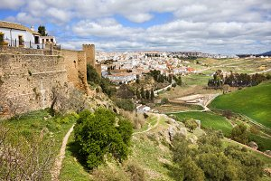 Ronda City and Andalusia Landscape