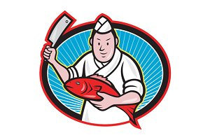 Japanese Fishmonger Butcher Chef