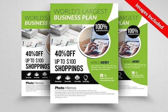 creative business flyer template flyer templates creative market