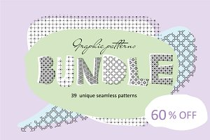 60 % OFF Graphic pattens Bundle
