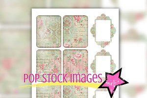 Printable Art Junk Journal Inserts
