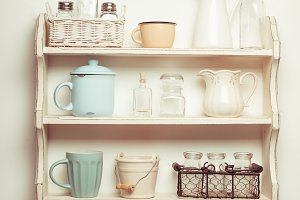 The Vintage shelf