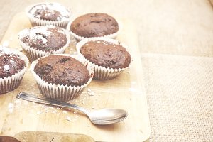 Coconut muffins 2