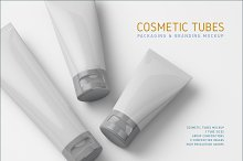 Cosmetic Tubes Mock-up