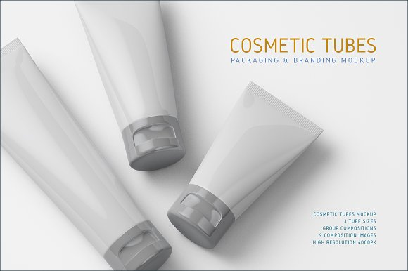 Download Cosmetic Tubes Mock-up